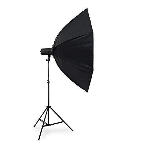 HAUSER & PICARD Octagon Softbox Set 120 cm + Studioblitz Magna 210 Ws by eSmart Germany