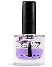 Colorbar Flower Shot Nail and Cuticle Oil, Blue, 9 ml