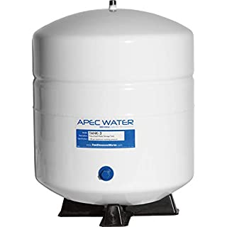 APEC TANK-3 3 Gallon Residential Pre-pressurized Reverse Osmosis Water Storage Tank