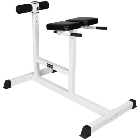 Bad Company Hyperextension Rückenstrecker und Bauchtrainer I Fitnessgerät für Rücken- und Bauch-Workouts I BCA-53
