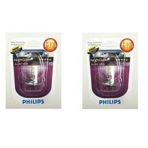 2 ampoules Philips NightGuide H7S 12V 55W