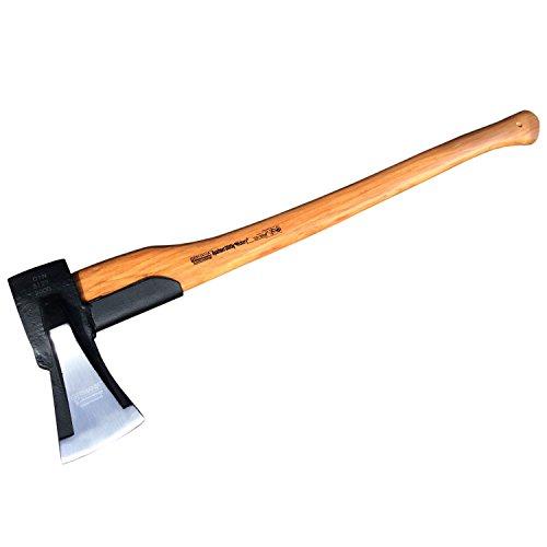 Spaltaxt mit Stielschutz Holzspalter Spaltbeil Spalthammer Axt 2000g Hickory