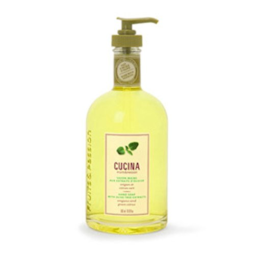 Cucina Hand Soap (Cucina Oregano and Green Citrus 16.9 oz Hand Soap by Fruits & Passion)