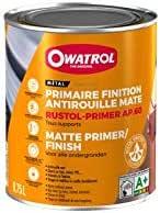 Owatrol Rustol Primer Ap 60 Rostschutz Primer 0 75 Litre Rotbraun Küche Haushalt