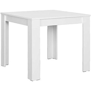 CAVADORE Tisch NICK / kleiner, praktischer Küchentisch 80 x 80 cm ...