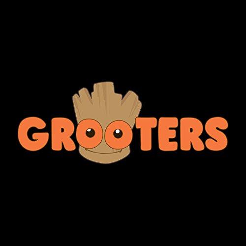 Guardians Of The Galaxy Grooters Baby Groot Women's Hooded Sweatshirt Black  ...