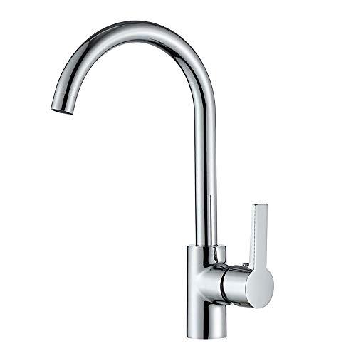 WFtaps Red Flush-Küchen-Hahn-Kupfer-einzelnes Loch-heißer Und Kalter Mischender Sink-Hahn Küchenarmatur Spray - Flush Spritzen