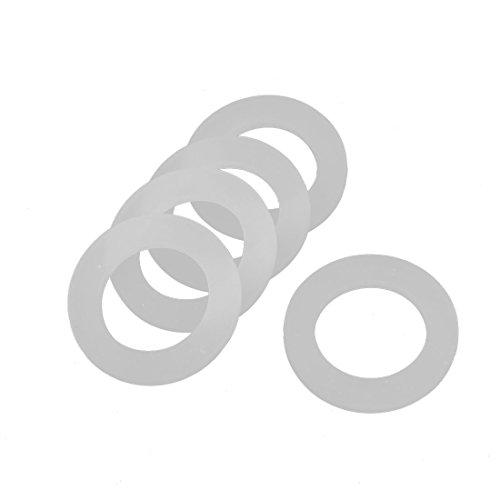 sourcing map 5 Stk 21 x 31 x 3 mm O-Ring Dichtung Schlauch flache Unterlegscheibe Gummi für Durchlauferhitzer DE de (Flache O-ring)