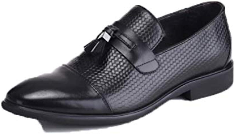 YCGCM Le Scarpe da Uomo in Pelle Indossano Scarpe da Uomo Casual Inglesi A Punta | Intelligente e pratico  | Maschio/Ragazze Scarpa