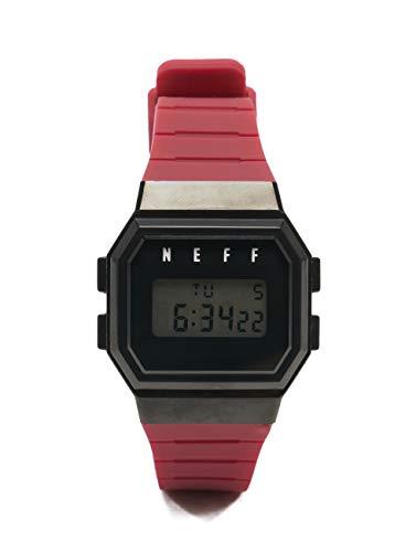 Neff Herren Uhren Flava Watch rot Einheitsgröße
