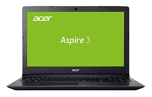 Acer Aspire 3 (A315-53-583N) 39, 6cm (15, 6 Zoll Full-HD matt) Multimedia Notebook (Intel Core I5-8250U, 8 GB RAM, 256 GB SSD, Intel UHD, Win 10) Schwarz -