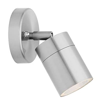 Adjustable Outdoor Wall Light Stainless Steel IP44 35w (ZLC010) Zenon Lighting Collection produced by Long Life Lamp Company - quick delivery from UK.