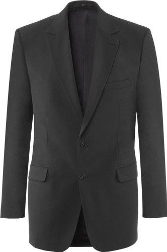 GREIFF Herren-Sakko Anzug-Jacke PREMIUM comfort fit - Style 1122 - anthrazit - Größe: 30 (Stretch-wolle 3-knopf-anzug)