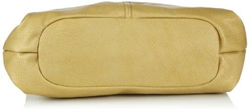 Fritzi aus Preussen Alice FaP SS1-14 Damen Schultertaschen 48x44x13 cm (B x H x T) Gold (Gold-Be A239)
