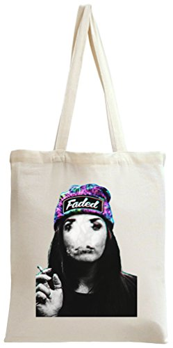 Stoned Weed Girl Faded Snapback hipster Sexy Tote Bag