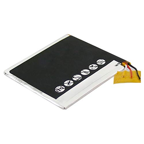subtel® Qualitäts Akku kompatibel mit Apple iPod Nano 3 Gen. A1236 (450mAh) 616-0337,616-0311 Ersatzakku Batterie Ipod Nano 3. Gen