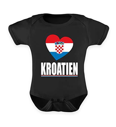 Hochwertiges Baby Body - Kroatien Flagge T-Shirt Hrvatska Fan Kroatien Fussball Trikot Geschenk