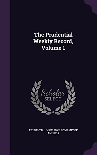 the-prudential-weekly-record-volume-1