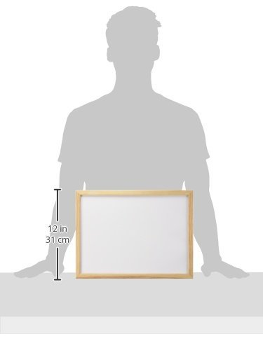 Q Connect 400x300mm Wooden Frame Whiteboard