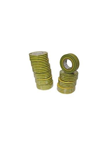Nitto 1040vjpc Isolierband 19mm x 10m, grün/gelb Maße