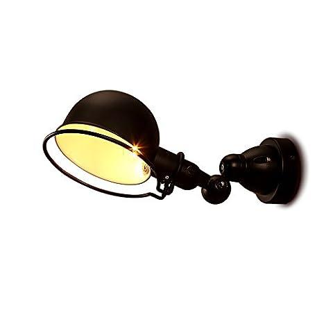 Neixy - Lampe murale pliable Creative Retro Rustic Loft Lampes murales en fer Décoré Chambre / Salon / Restaurant / Café / Corridor / Galerie Éclairage intérieur Luminaires à LED