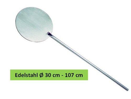 Pizzaschaufel Edelstahl Ø 30 cm 107 cm