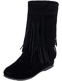 1379bb2e6a Amazon.it: frange - Stivali / Scarpe da donna: Scarpe e borse