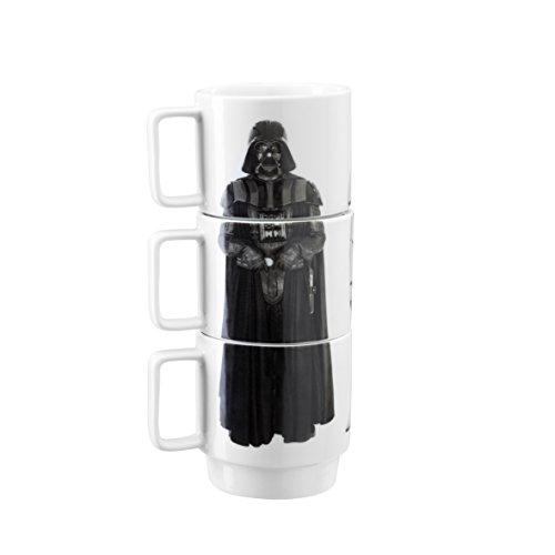 Underground Toys - Tazas Apilables De Star Wars, Modelo Darth Vader, Stormtrooper Y Imperial Guard