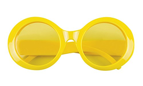 Boland 02608 Brille, Gelb - Herren Fünfziger Jahre Kostüm