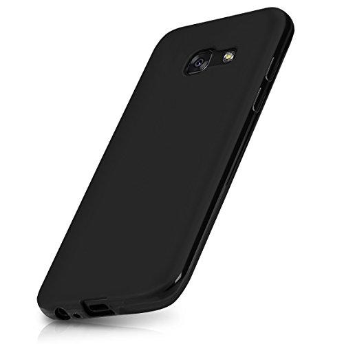kwmobile Samsung Galaxy A3 (2017) Hülle - Handyhülle für Samsung Galaxy A3 (2017) - Handy Case in Schwarz matt