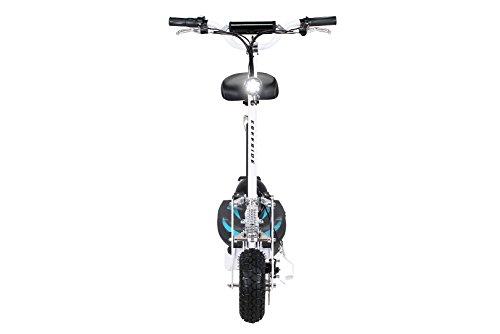 E-Scooter Roller Original E-Flux Freeride 1000 Watt 48 V mit Licht und Freilauf Elektroroller E-Roller in vielen Farben (weiß) - 5