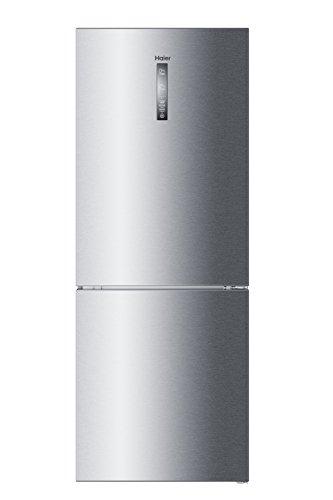 Haier C3FE844CGJ Kühl- Gefrierkombination/A+++/190,5cm Höhe/70 cm Breite/ 214 kWh/Jahr/314 L Kühlteil/136 L Gefrierteil/Inverter Kompressor /LED-Beleuchtung/silber