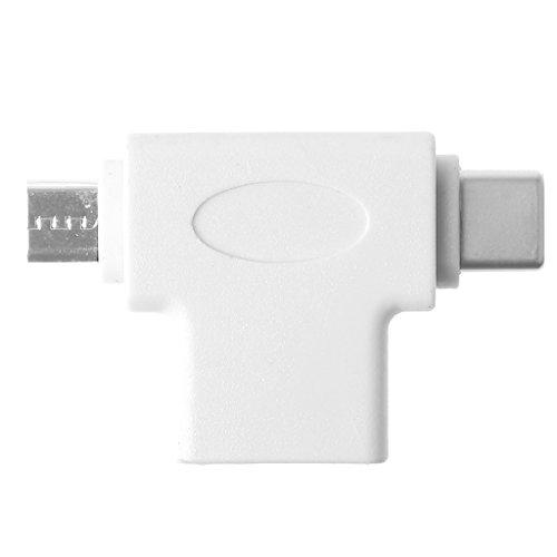 BULAGE USB 3.0 Micro USB Typ C OTG Adapter Konverter für Samsung Xiaomi Huawei Android -