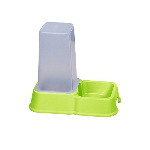 Dispensador de pienso–1,5l–verde