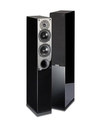 INDIANA LINE COPPIA DIFFUSORI TESI 542 nero lucido in promozione su Polaris Audio Hi Fi