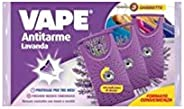 Vape Anti Tarme Gabbiette alla Lavanda, Protegge Indumenti e Profuma, 3 Pezzi