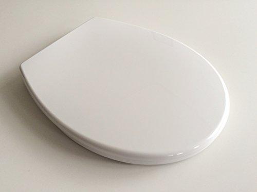 WC Sitz Klobrille mit Absenkautomatik und auf Knopfdruck abnehmbar zur Reinigung