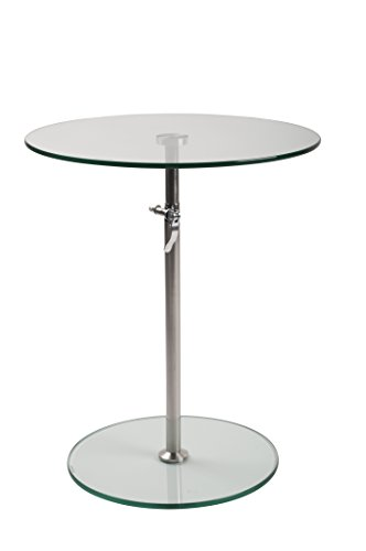 Felis Lifestyle 4001001 Karena Table basse Verre Transparent 45 x 45 x 75 cm