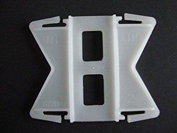 Kirsch Continental II, Flexible, connecteurs, d'angle pour la Tige de 2 1/5,1 cm, (MPN # 6728025) Vendu par la Paire (1)