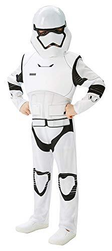 Rubies star wars stormtrooper - il potere della forza risveglia - bambini costume, taglia 9-10 anni