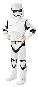 Star Wars - Disfraz de Villain Trooper Deluxe para niños, talla XL infantil 9-10 años (Rubie