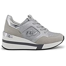 Byblos SCARPE SNEAKERS CASUAL DONNA ORIGINALE RUNNING GLAM 682304 PELLE PE  2018 cd912bb88a8
