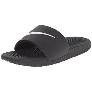 Nike Kawa Slide (GS/PS), Boys' Flip Flop, Black / White, 5.5 UK (38.5 EU)