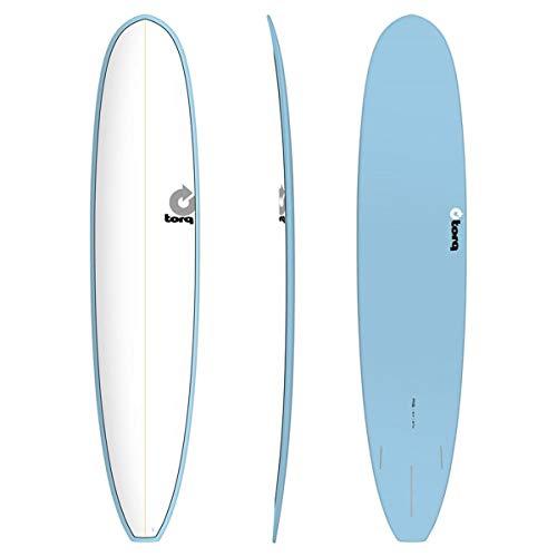 Torq Surfboard Epoxy TET 9.6 Longboard White Blue
