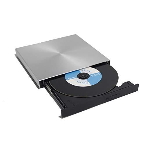 USB 3.0 Aluminiumlegierung Externer DVD-Brenner CD-Player Schlankes tragbares optisches Laufwerk für MacBook Laptop/Windows Notebook