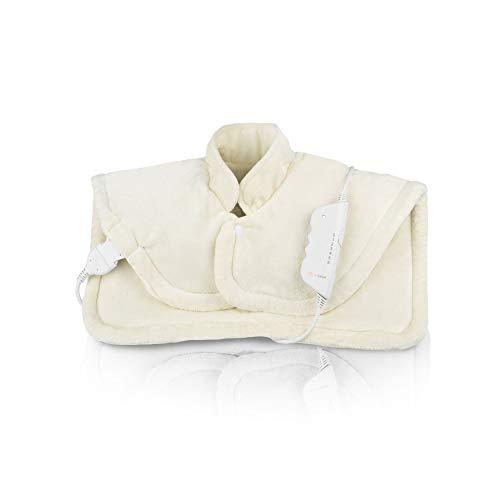 Medisana HP 622Coussin chauffant pour la nuque et les épaules, 6niveaux de températures, conforme à la norme Oeko-Tex Standard 100, lavable en machine - 61155