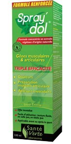 Santé Verte - Spray'Dol Articulations, Muscles, Tendons, Coups - 100ml