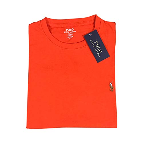 Ralph Lauren T-Shirt Interlook Custom Fit (M, Dark Orange)