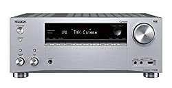 Onkyo TX-RZ740(S) 9.2 Kanal AV Receiver (THX Cinema Sound, 185 Watt/Kanal, Multiroom, Dolby/DTS: X, Wlan, Bluetooth, Streaming, AirPlay2, Musik App, Spotify, Tidal, Deezer, Internet Radio) Silber