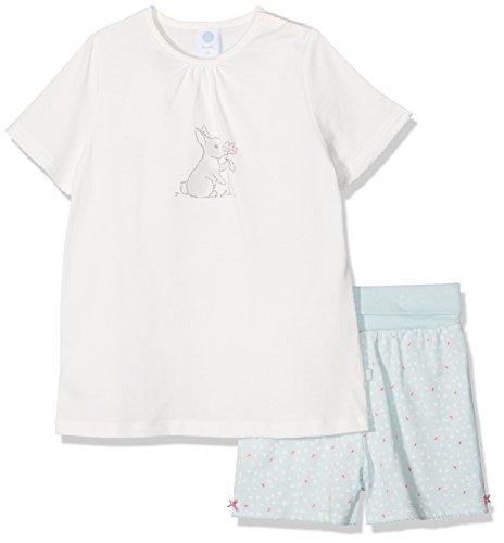 Sanetta Baby-Mädchen Zweiteiliger Schlafanzug 221372, Beige (Broken White 1427), 92